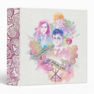 Harry Potter Spell | Harry, Hermione, & Ron Waterc Binder