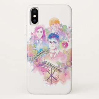 Harry Potter Spell | Harry, Hermione, & Ron Waterc Case-Mate iPhone Case