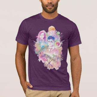 Harry Potter Spell   Harry, Hermione, & Ron Waterc T-Shirt