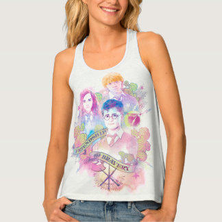 Harry Potter Spell | Harry, Hermione, & Ron Waterc Tank Top