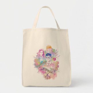 Harry Potter Spell   Harry, Hermione, & Ron Waterc Tote Bag