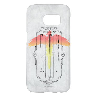 Harry Potter Spell | Harry's Wand Infographic Samsung Galaxy S7 Case