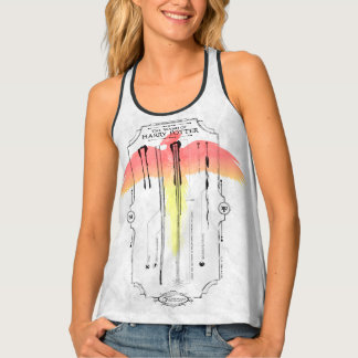 Harry Potter Spell   Harry's Wand Infographic Tank Top