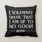 Harry Potter Spell | I Solemnly Swear Throw Pillow