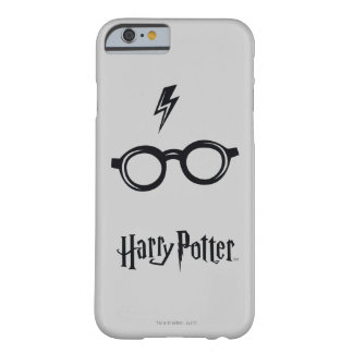 Harry Potter Spell   Lightning Scar and Glasses Barely There iPhone 6 Case