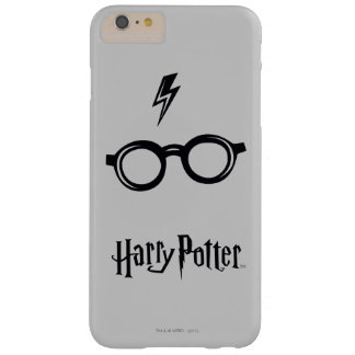 Harry Potter Spell | Lightning Scar and Glasses Barely There iPhone 6 Plus Case
