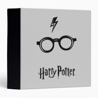 Harry Potter Spell | Lightning Scar and Glasses Binder