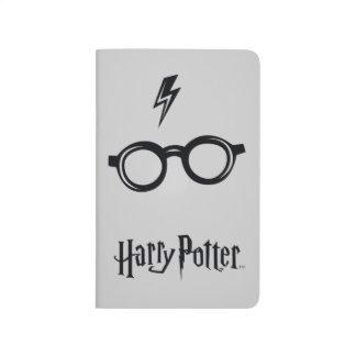 Harry Potter Spell   Lightning Scar and Glasses Journals
