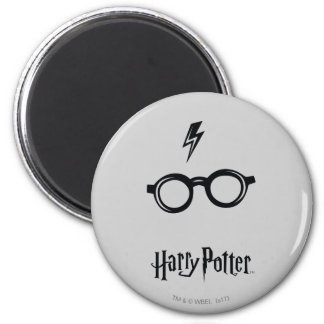 Harry Potter Spell | Lightning Scar and Glasses Magnet