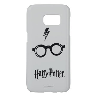 Harry Potter Spell | Lightning Scar and Glasses Samsung Galaxy S7 Case