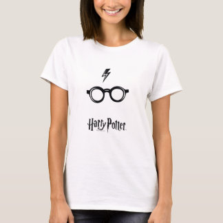 Harry Potter Spell | Lightning Scar and Glasses T-Shirt