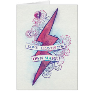 Harry Potter Spell | Love Leaves Its Own Mark Card