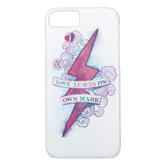 Harry Potter Spell | Love Leaves Its Own Mark iPhone 8/7 Case