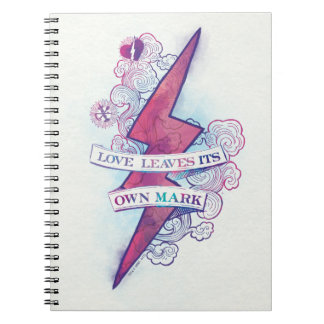 Harry Potter Spell | Love Leaves Its Own Mark Notebooks