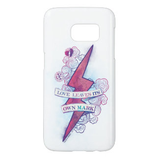 Harry Potter Spell | Love Leaves Its Own Mark Samsung Galaxy S7 Case