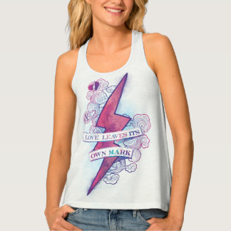 Harry Potter Spell | Love Leaves Its Own Mark Tank Top