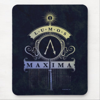 Harry Potter Spell | Lumos Maxima Graphic Mouse Pad