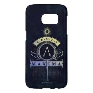 Harry Potter Spell | Lumos Maxima Graphic Samsung Galaxy S7 Case