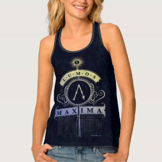 Harry Potter Spell | Lumos Maxima Graphic Tank Top