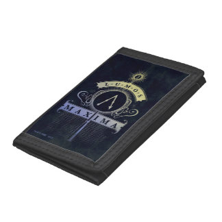 Harry Potter Spell | Lumos Maxima Graphic Tri-fold Wallet