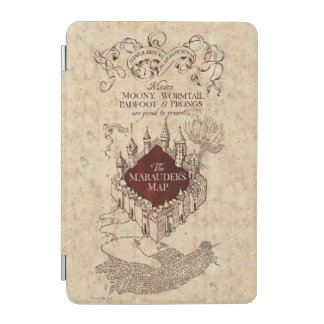 Harry Potter Spell | Marauder's Map iPad Mini Cover