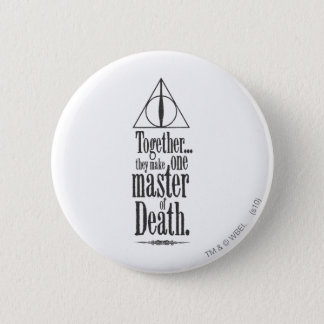 Harry Potter Spell   Master of Death 2 Inch Round Button