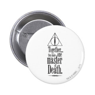Harry Potter Spell | Master of Death 2 Inch Round Button