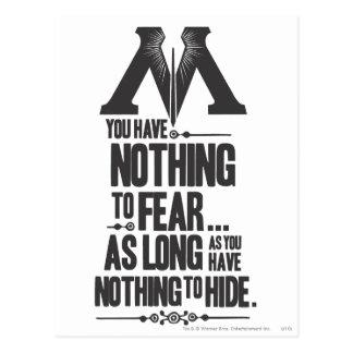 Harry Potter Spell | Ministry of Magic Propaganda Postcard
