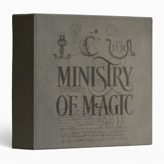 Harry Potter Spell | MINISTRY OF MAGIC Vinyl Binders