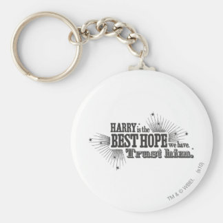Harry Potter Spell | Our Best Hope Basic Round Button Keychain