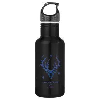 Harry Potter Spell   Stag Patronus Sketch 532 Ml Water Bottle