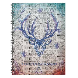 Harry Potter Spell | Stag Patronus Sketch Notebook