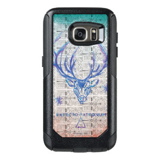 Harry Potter Spell | Stag Patronus Sketch OtterBox Samsung Galaxy S7 Case
