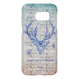 Harry Potter Spell | Stag Patronus Sketch Samsung Galaxy S7 Case