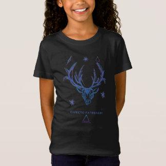 Harry Potter Spell | Stag Patronus Sketch T-Shirt