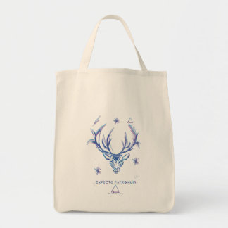 Harry Potter Spell | Stag Patronus Sketch Tote Bag
