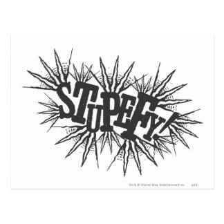 Harry Potter Spell | Stupefy! Postcard