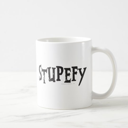 Harry Potter Spell | Stupefy Stunning Spell Coffee Mug