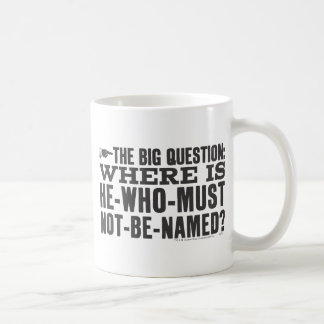 Harry Potter Spell | Where is Voldermort? Coffee Mug