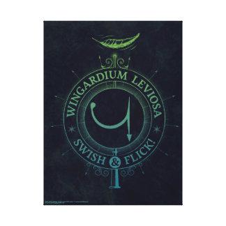 Harry Potter Spell | Wingardium Leviosa Graphic Canvas Print