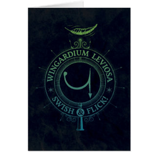 Harry Potter Spell | Wingardium Leviosa Graphic Card