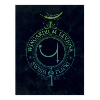 Harry Potter Spell | Wingardium Leviosa Graphic Postcard