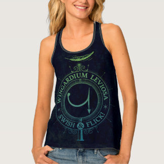 Harry Potter Spell | Wingardium Leviosa Graphic Tank Top