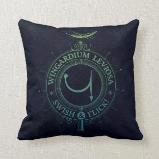 Harry Potter Spell | Wingardium Leviosa Graphic Throw Pillow