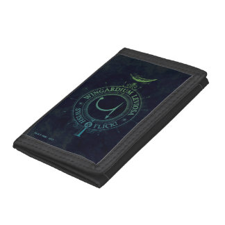 Harry Potter Spell | Wingardium Leviosa Graphic Trifold Wallet