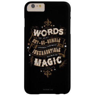 Harry Potter Spell | Words Are Our Most Inexhausti Barely There iPhone 6 Plus Case
