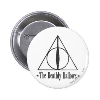 Harry Potter | The Deathly Hallows Emblem 2 Inch Round Button