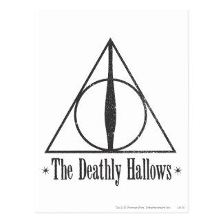 Harry Potter   The Deathly Hallows Emblem Postcard