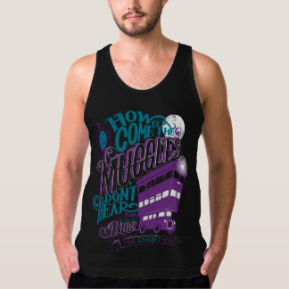 Harry Potter   The Knight Bus Typography Graphic Tank Top