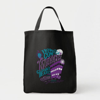 Harry Potter | The Knight Bus Typography Graphic Tote Bag